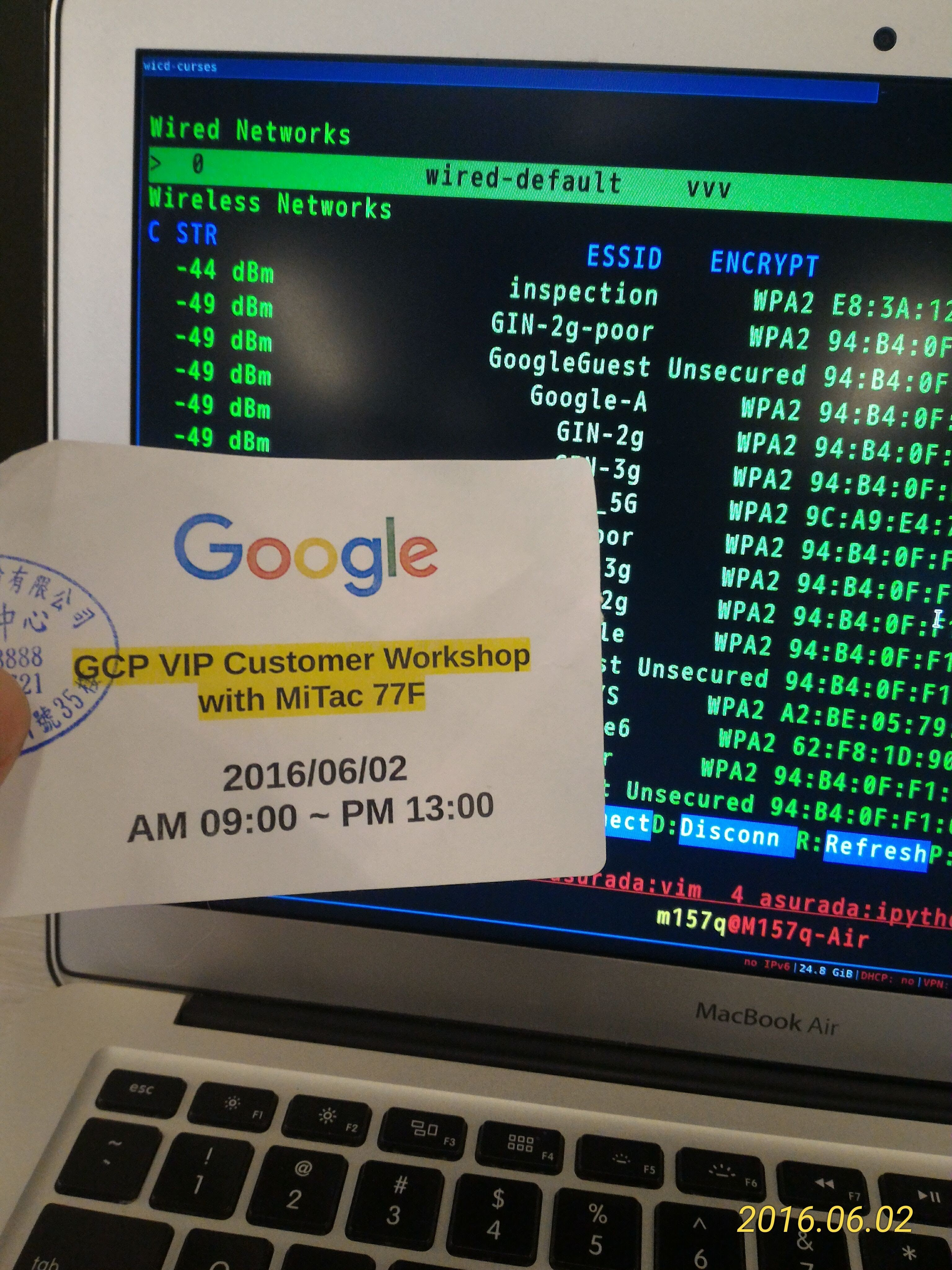 GCP VIP Customer Workshop